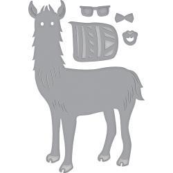 S3319 Spellbinders Shapeabilities Dies Hip Llama