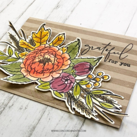 """540428  Concord & 9th Clear Stamps Grateful For Everything 6""""X8"""""""
