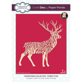CEDPP003 Creative Expressions Paper Panda dies Forest stag