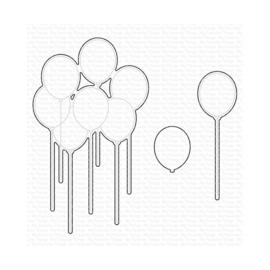 MFT1947 My Favorite Things Die-namics Die Party Balloons