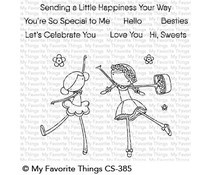 CS-385 My Favorite Things Sweet Besties Clear Stamps
