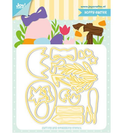 **Joy Crafts stans  Jocelijne Hoppy Easter
