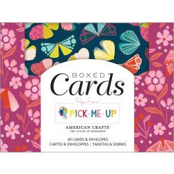 101077 American Crafts A2 Cards W/Envelopes Paige Evans Pick Me Up