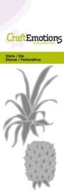 115633/0216 CraftEmotions Die  ananas Card 5x10cm