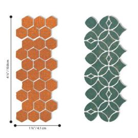 663869 Sizzix Thinlits Die Set Pattern Repeat Tim Holtz