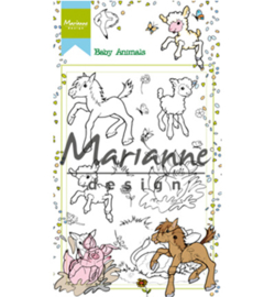 HT1630 Marianne Design Hetty's baby animals