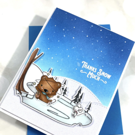 LDRS3252 LDRS Creative Snow Much Fun Clear Stamps