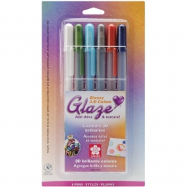 328095 Sakura Gelly Roll Glaze Bold Point Pens