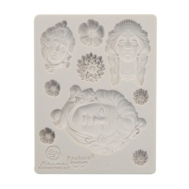 966584 Prima Marketing Mould art nouveau 3,5x4,5""