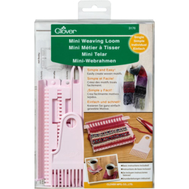 072961 Clover Single Mini Weaving Loom
