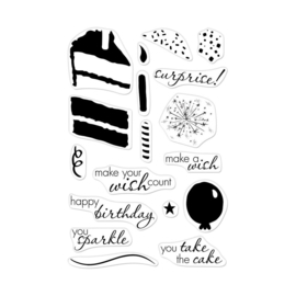 "573170 Hero Arts Color Layering Clear Stamps 4""X6"" Birthday Cake"