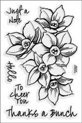 477349 Stampendous Clear Stamps Narcissus