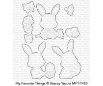 MFT-1483 My Favorite Things Easter Bunnies Die-Namics