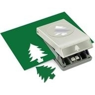54-30217 Slim Paper Punch Large Fir Tree