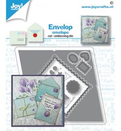 6002/1606 Stans-embosmal Envelop