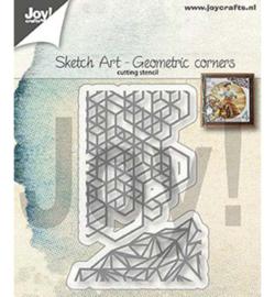 6002/1311 Cutting & embossing Sketch Art Geometrische hoeken