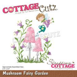 """594858 CottageCutz Dies Mushroom Fairy Garden 2.5""""X2.9"""""""