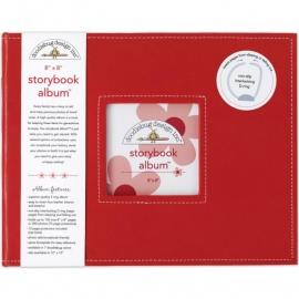 "487694 Doodlebug Album 8""X8"" Ladybug"