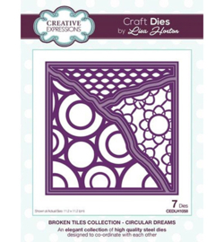 CEDLH1058 Cutting & embossing Circular Dreams
