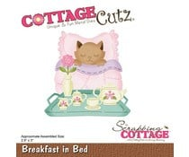CC-453 Scrapping Cottage Breakfast In Bed