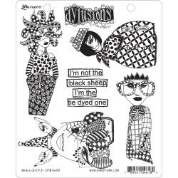 321629 Dyan Reaveley's Dylusions Cling Stamp Collections Black Sheep