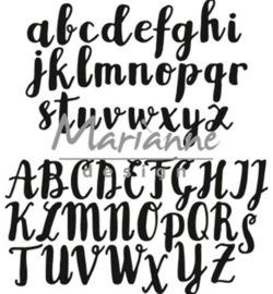 CR1416 Craftables Brush alphabet