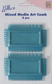 130501/1970 Nellies Choice Art Combs 2 design kammen