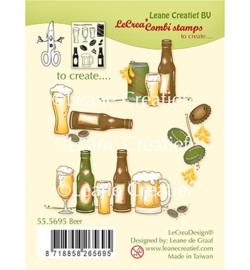 555695 Clear Stamp Combi Beer