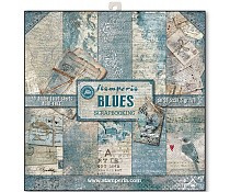 SBBL26 Stamperia Blues 12x12 Inch Paper Pack