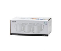 2008942 Cricut Ceramic Mug White 350ml (6pcs)