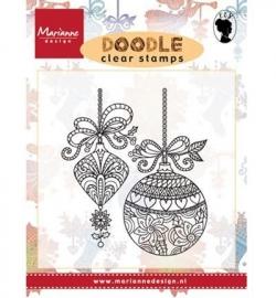 EWS2221 Stempel Doodle Christmas decoration
