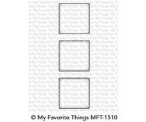 MFT-1510 My Favorite Things Square Trio Shaker Window Die-namics