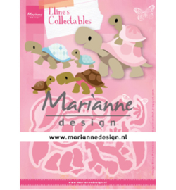COL1480  Marianne Design collectables Eline's Turtles