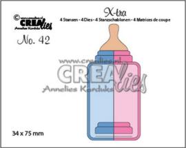 115634/0862 Crealies X-tra no. 42 Zuigfles (middel)