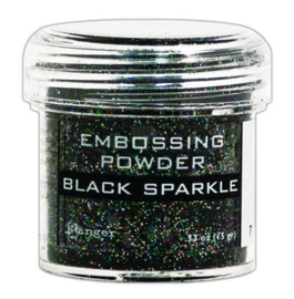 EPJ37460 Ranger Embossing Powder Black Sparkle