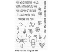 CS-322 My Favorite Things Tutu Trio Clear Stamps