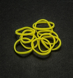 45036 - Band-it - Elastieken Neon Yellow 600pcs