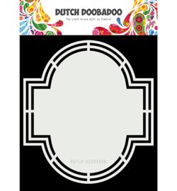 470.713.182 Dutch DooBaDoo Dutch Shape Art Emerald
