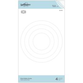 S5431 Spellbinders Etched Dies Circles- Picot Petite By Becca Feeken