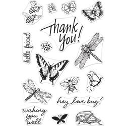 "588349 Hero Arts From The Vault Clear Stamp Bugs 4""X6"""