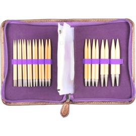 072976 Carry C Interchangeable Bamboo Knitting Needle Set
