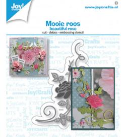 6002/1502 Joy!Crafts Cutting & embossing Mooi roos