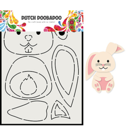 470.713.811 Dutch DooBaDoo Card Art Built up Konijn