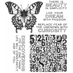 342973 Tim Holtz Cling Rubber Stamp Set Perspective