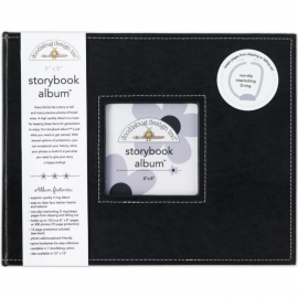 "487693 Doodlebug Album 8""X8"" Beetle Black"