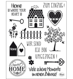 4003.163.00 Viva Clear Stamps Sweet Home