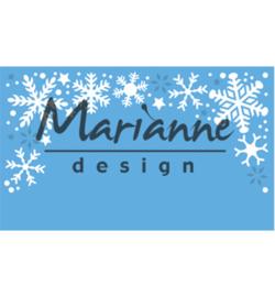 LR0498 Marianne Design Creatables Snowflakes border