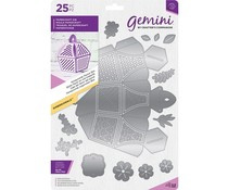 GEM-MD-DIM-HONEY Gemini Honeycomb Favour Box Dies