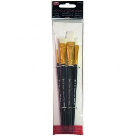 135237 Donna Dewberry Glass Brush Set 4pc
