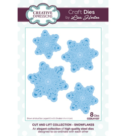 CEDLH1037 The Cut and Lift Collection Snowflakes